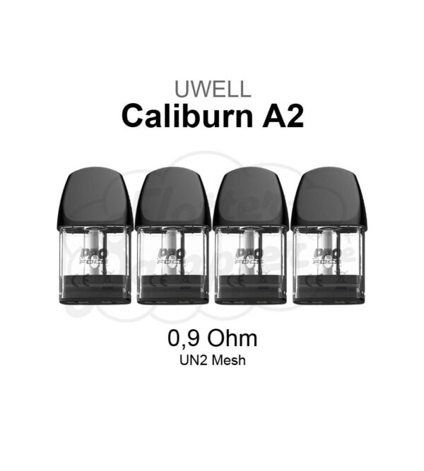 Caliburn A2 0.9 Meshed-H Refillable pods
